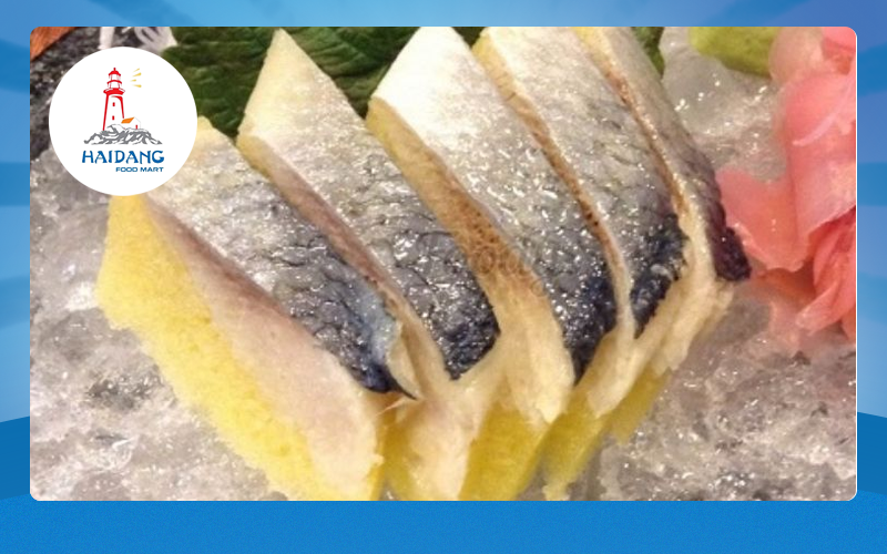cá trích ép trứng thơm ngon