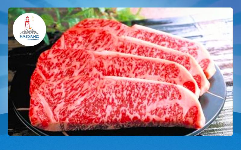 chất lượng tuyệt hảo của bò wagyu